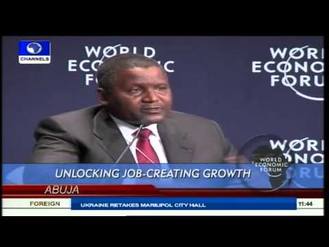 WEF Africa: Unlocking Job-Creating Growth Prt 2