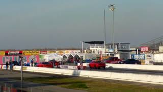 SRT DEMON 808 TUNE VS HELLCAT FROM THE STANDS FAMOSO DRAG RACE PASS 1-27-2018 DODGE CHALLENGER