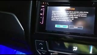 How to mirroring honda BR-V kenwood head unit to your phone
