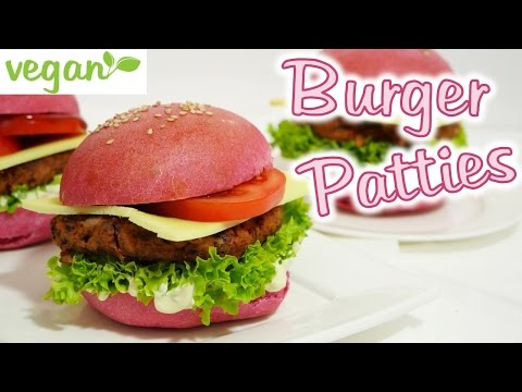 Vegan Burger Patties I Vegane Hamburger