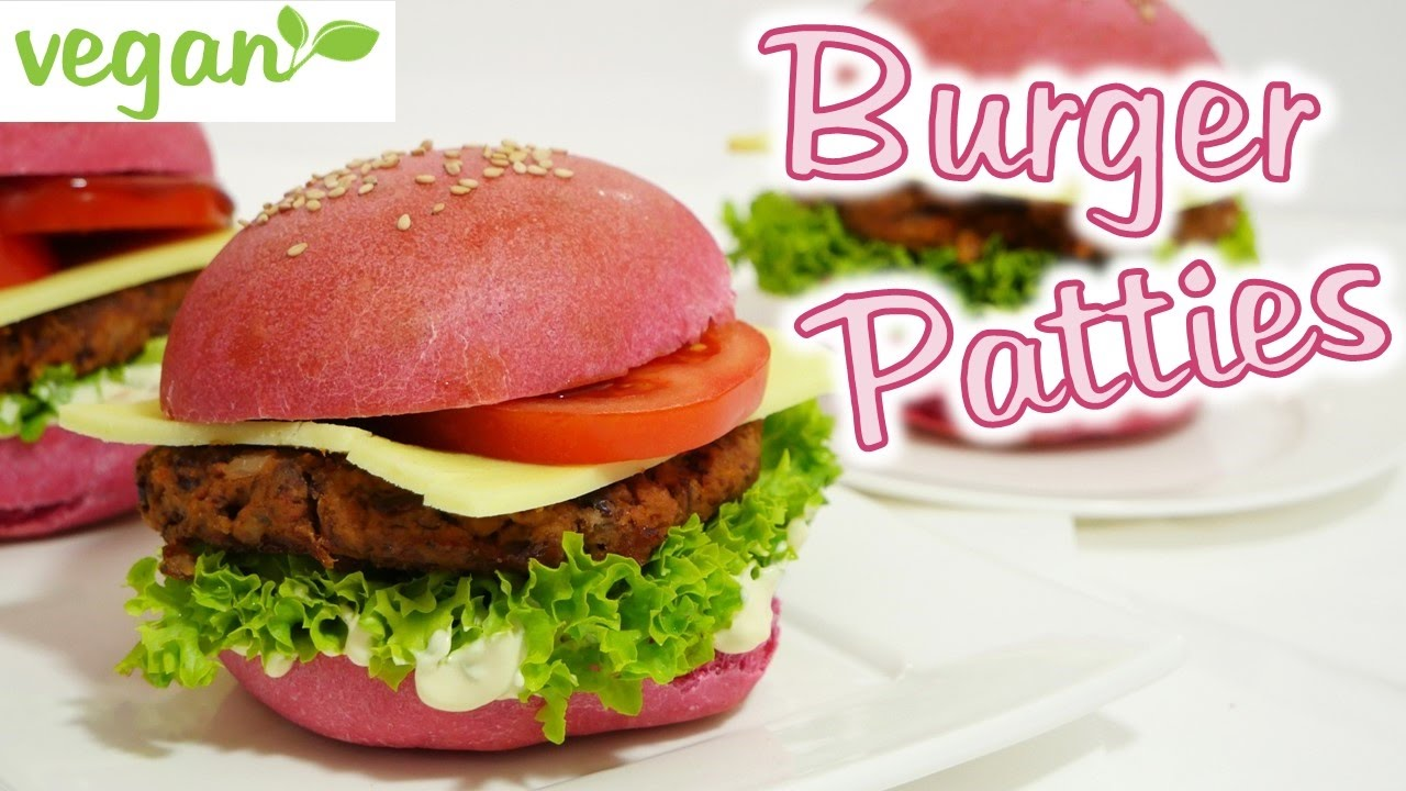 vegan burger patties i vegane hamburger youtube. Black Bedroom Furniture Sets. Home Design Ideas