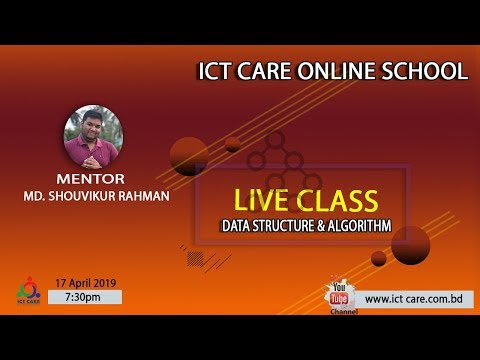 Data Structure & Algorithm Live Class By ICT CARE!