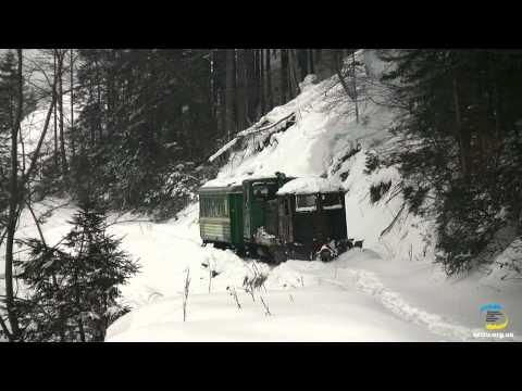 ТУ4 со снегочестителем, Выгодская УЖД / TU4 with Snowplough in Vigoda