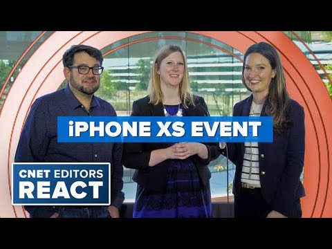 CNET editors react to the Apple Watch 4 and new iPhones
