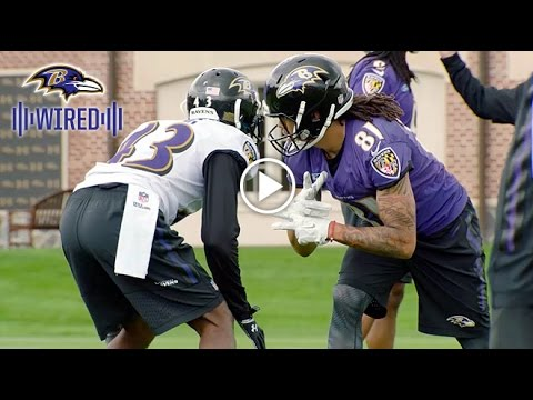 Wired: Inside Ravens Rookie Camp Episode 3 – Corners vs. Receivers