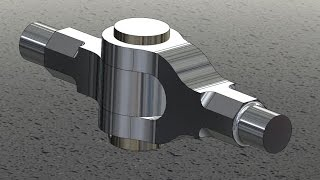 knuckle joint assembly design | animation in catia v5