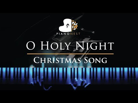 O Holy Night - in F - Christmas Song (Piano Karaoke / Sing Along Cover with Lyrics)