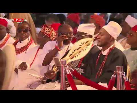Oba of Benin Coronation pt1