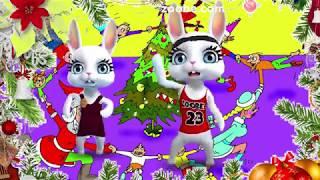 Зайка ZOOBE 'Вот так  и встречаем год за годом  Новый Год!'