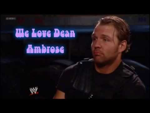 Dean Ambrose slideshow of pictures