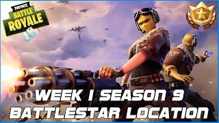WEEK 1 SECRET BATTLE STAR LOCATION - FORTNITE BATTLE ROYALE