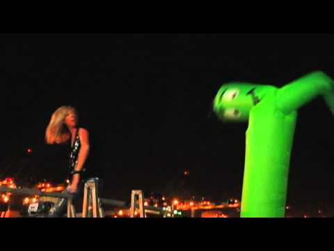 Always Sunny Webisode Green Inflatable Guy Dance Off
