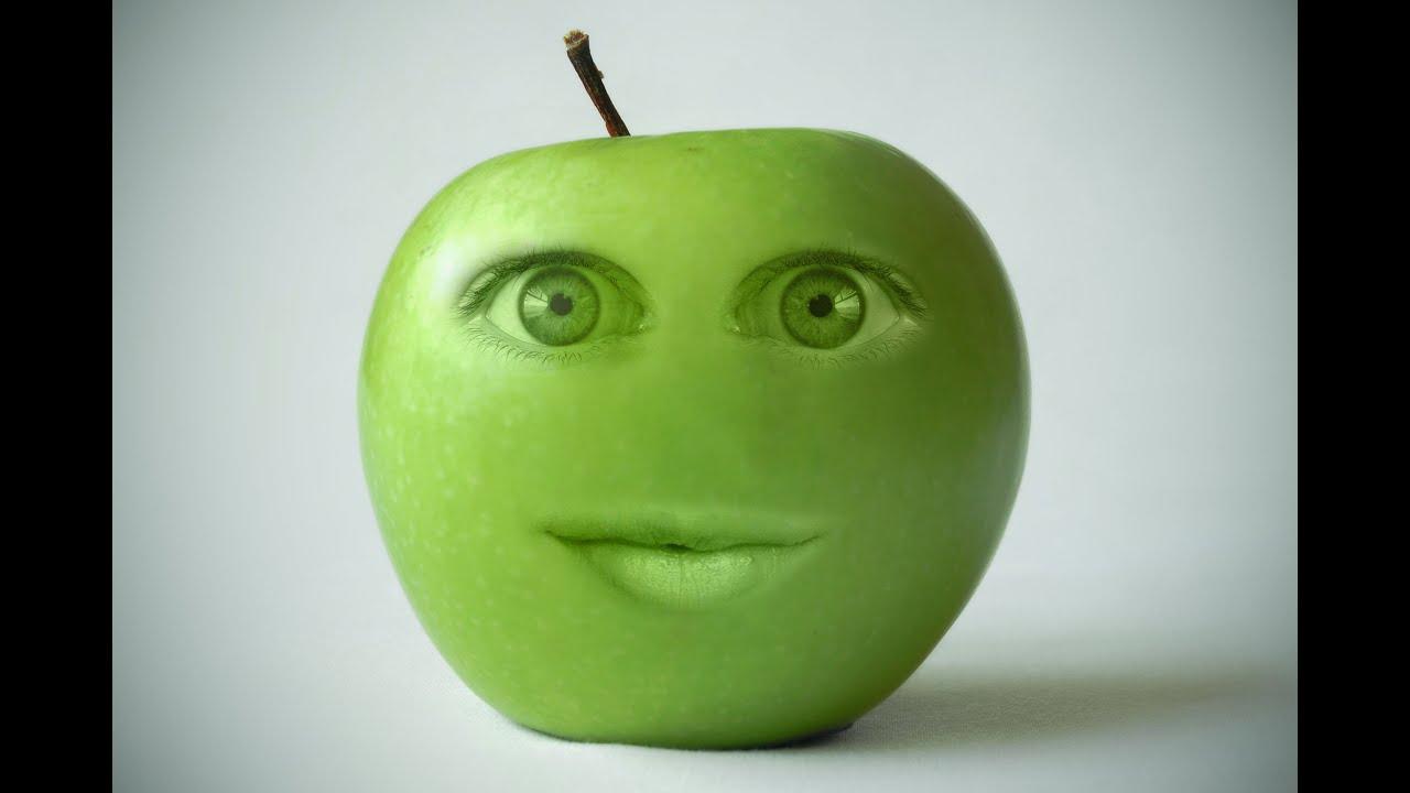 Photoshop Cc Fruit Face Manipulation 2016