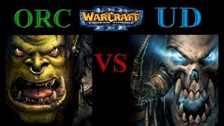 Warcraft 3 1vs1 #052 Orc vs Undead [Deutsch/German] Let's Play WC3 The Frozen Throne