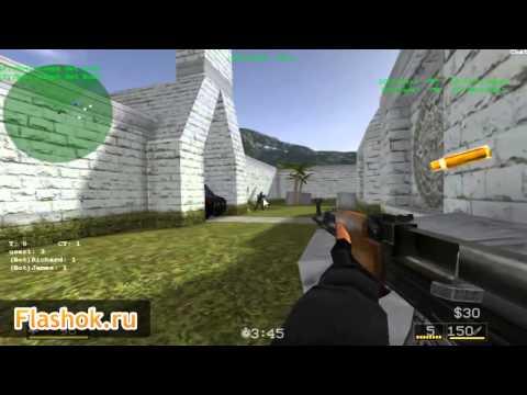 Flashok ru  онлайн игра Counter Strike Multiplayer  Обзор игры Контр Страйк онлайн