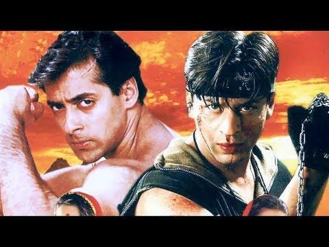 Шахрукх Кхан-индийский фильм:Каран и Арджун(1995г)Салман Кхан, Каджол, Ракхи Гульзар