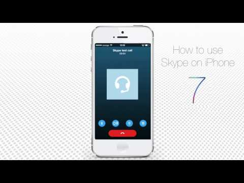 How To Use Skype On IPhone And IPad