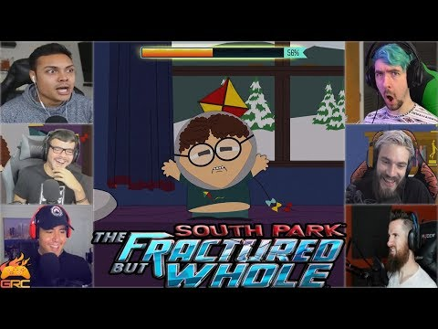 Gamers Reactions to Wrath of Kite From An Alternate Universe | South Park™: The Fractured But Whole