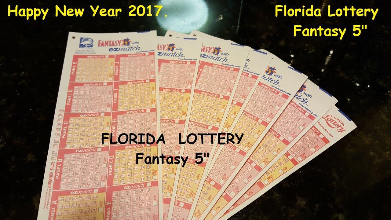 Florida Lottery Fantasy 5