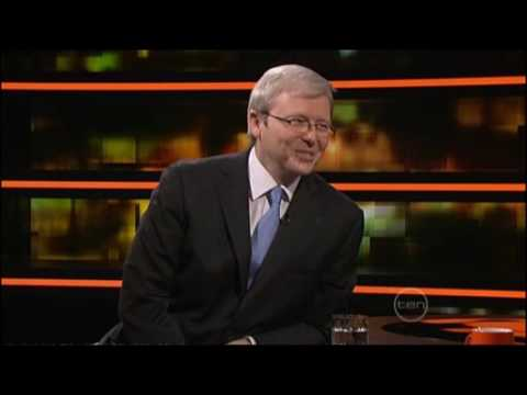 Kevin Rudd interview on ROVE (2009)