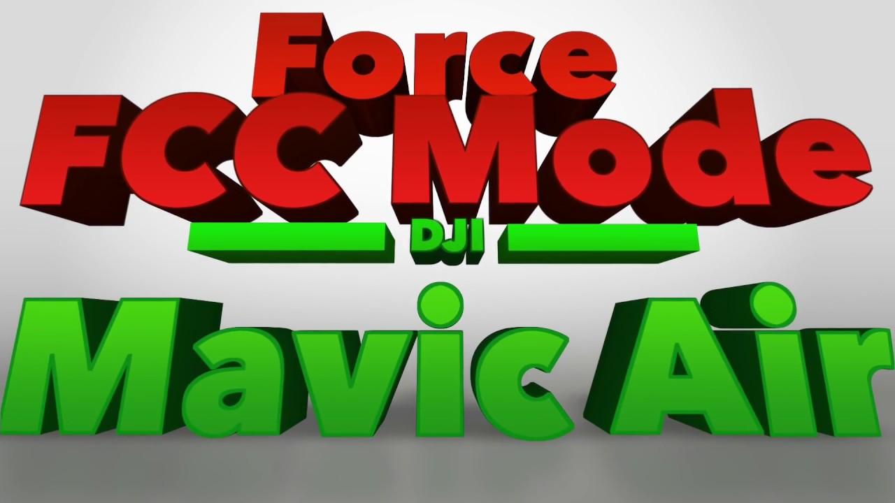 Force FCC mode on DJI Mavic Air FREE with Apple Mac & iPhone - Geo Spoof
