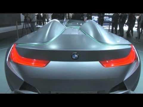 Bmw Vision Connecteddrive At Geneva Motor Show 2011 Youtube