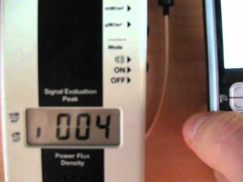 Radiation from cell phone NOKIA 6120 Classic using UMTS (or WCDMA) and  GSM networks