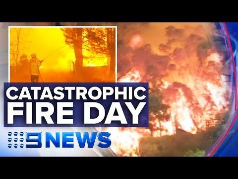 Terrifying Bushfires Ravage Towns Across NSW | Nine News Australia