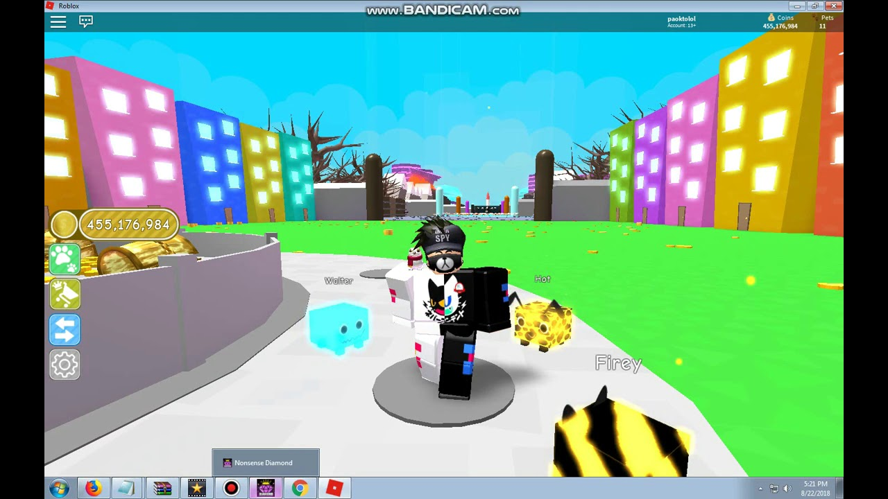 Work Cheat Unlimited Coins Pet Simulator Roblox Indonesia