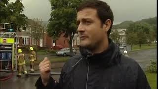 Funny clip from BBC Wales News on the floods in Port Talbot / Neath 2011