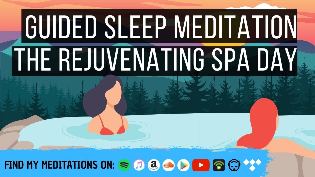 The Rejuvenating Spa Day 😴 LONG SLEEP STORY FOR GROWNUPS 💤 Reduce Stress, Anxiety & Worry