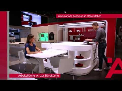 Plus de vie au m2 - Innovation et inspiration sur 1400 m2 de stand - Interzum 2015
