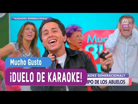 Duelo de karaoke - Mucho Gusto 2017