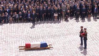 Les moments forts de l'hommage national à Simone Veil