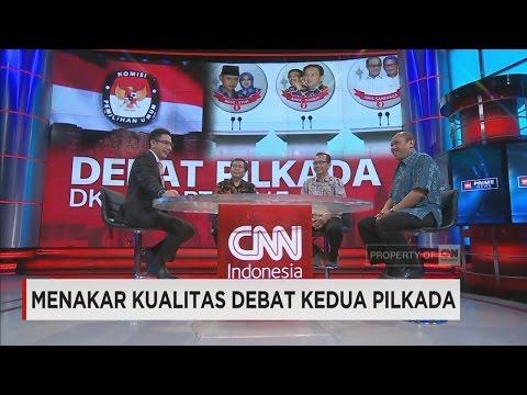 Menakar Kualitas Debat Kedua Pilkada Jakarta