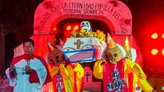 """Espectáculo el """"Día de Muertos"""" 2018 en Oaxaca"""