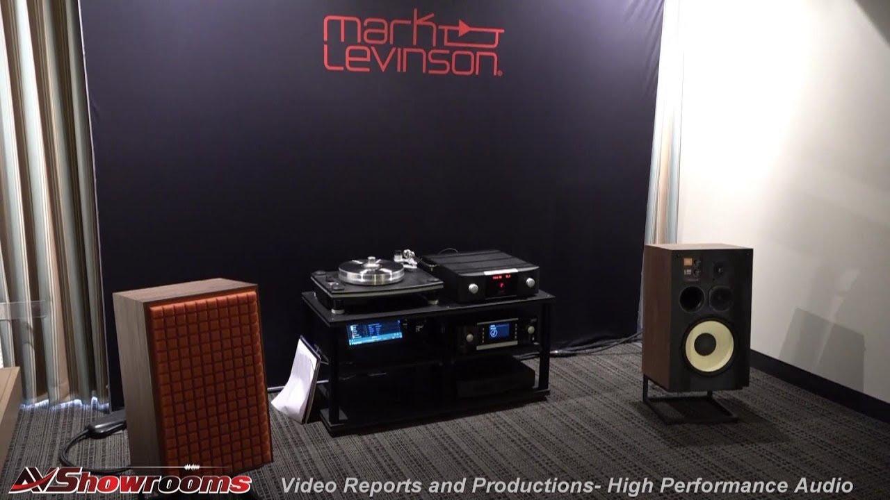 JBL L100 loudspeakers, Mark Levinson, Transparent Cables, Florida Audio  Expo 2019