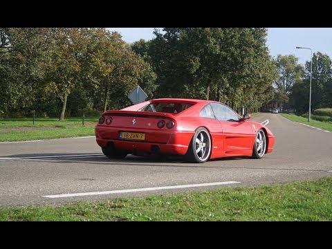 Ferrari F355 Berlinetta LOUD Accelerations! SOUNDS! (1080p Full HD)