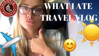 WHAT I EAT WHILE TRAVELING (VEGAN) vlog