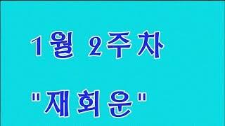"""타로 2019년 12별자리운세 1월 2주차 """"재회운"""" (일주일간해당)타로카드 타로방송 타로…"""