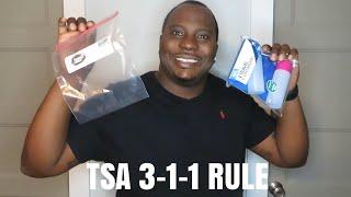 TSA CARRY ON & LIQUID RULES: 3-1-1 RULE