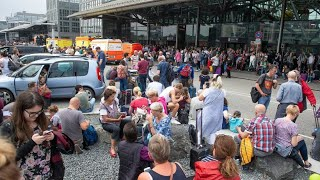 Nichts geht mehr: Chaos am Hamburger Flughafen