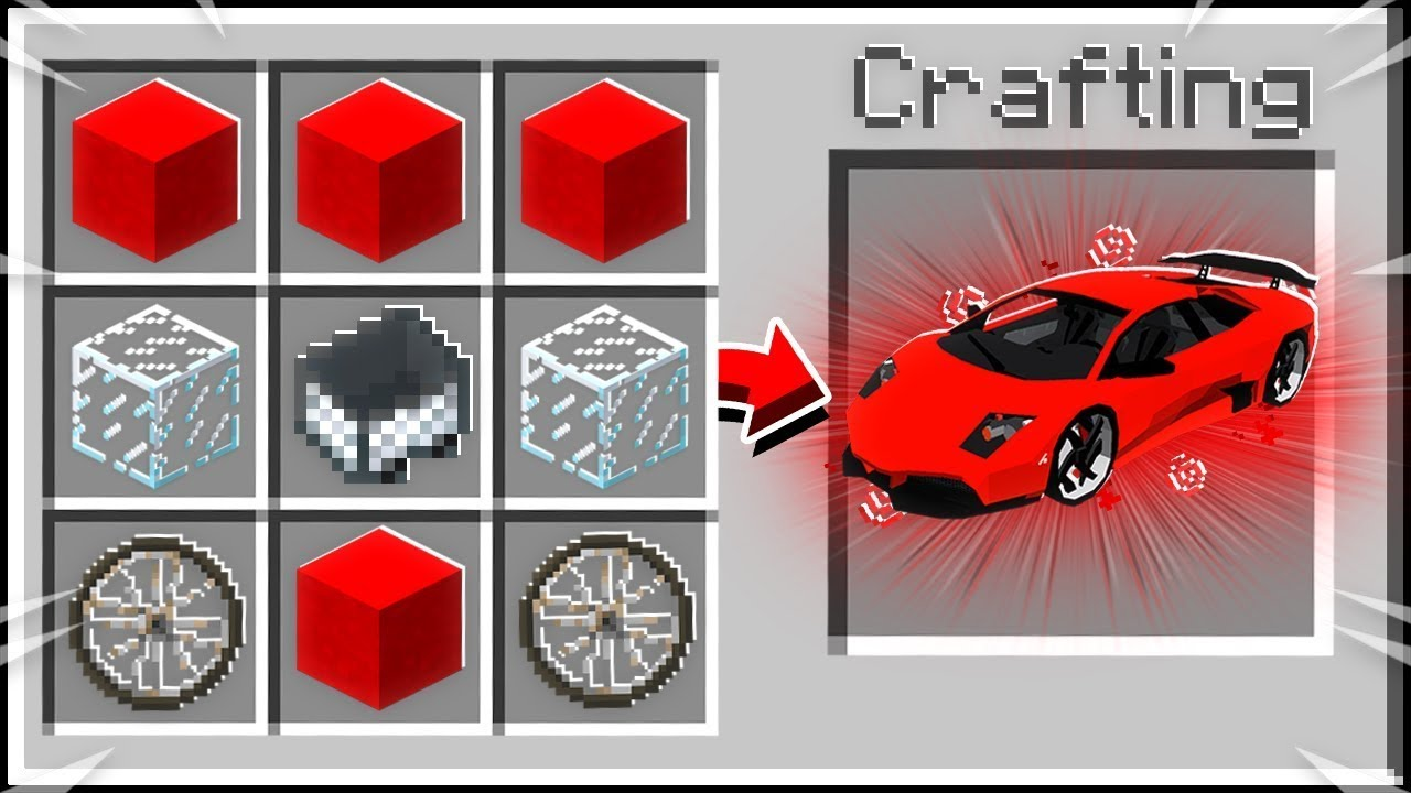 Crafting Lamborghini In Minecraft Rp Youtube