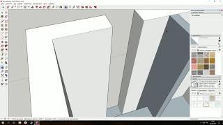 Моделирование квартиры 20 кв. м в SketchUp / Обучение для начинающих