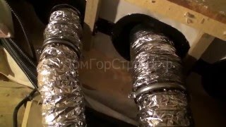 видео Как сделать систему вентиляции в деревянном доме