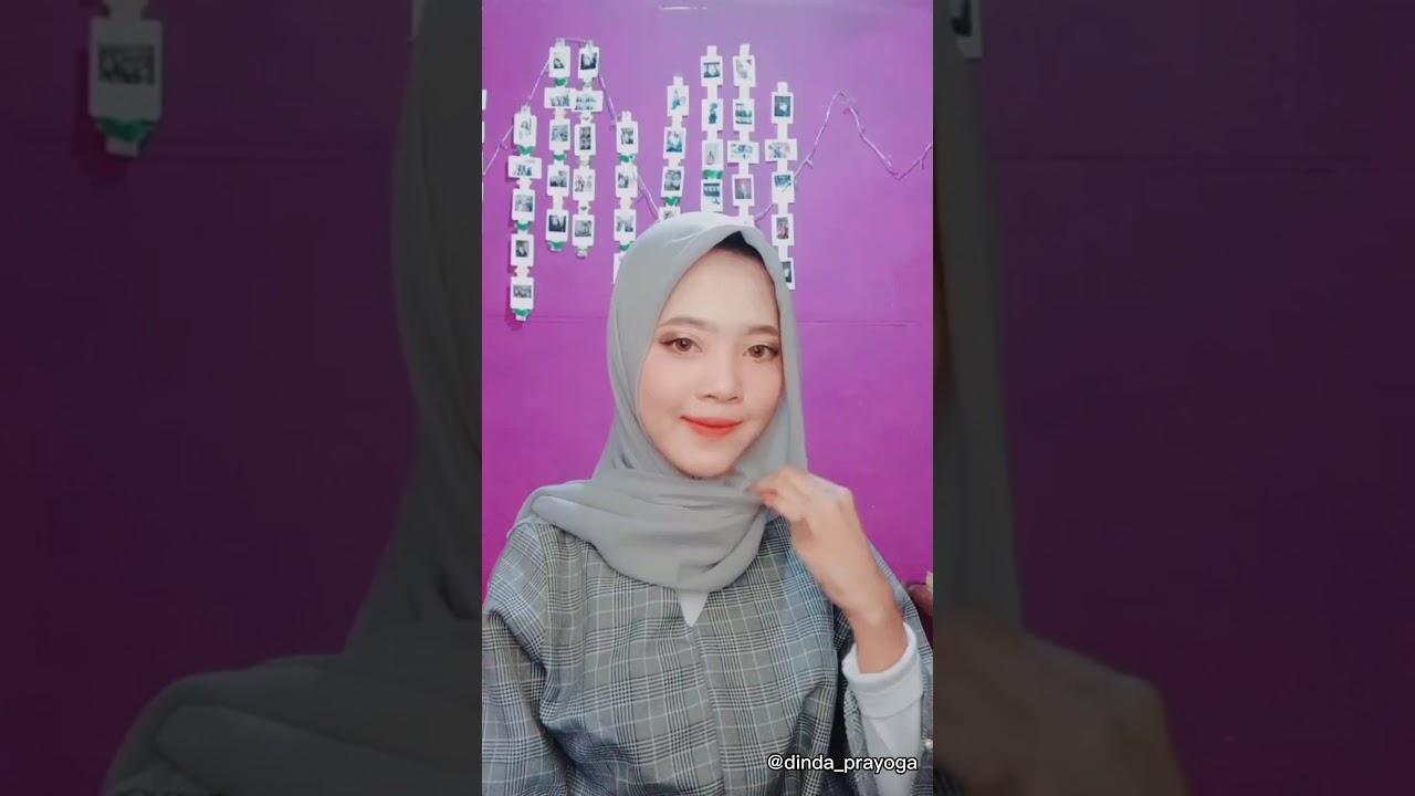 8 Tutorial Hijab Segi Empat Tutorial Hijab Simple Formal Kondangan Youtube