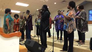 Hallelujah Singers at Old Fort Baptist Church 10 25 14