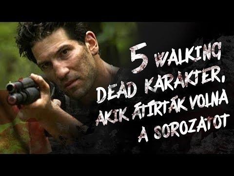 5 WALKING DEAD karakter, akik ÁTÍRTÁK VOLNA a sorozatot