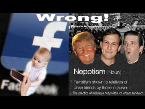 Episode 37. Trump's 'Unpresidented' Unethical Behavior, Baby Photo FB Backlash & Baby Myths