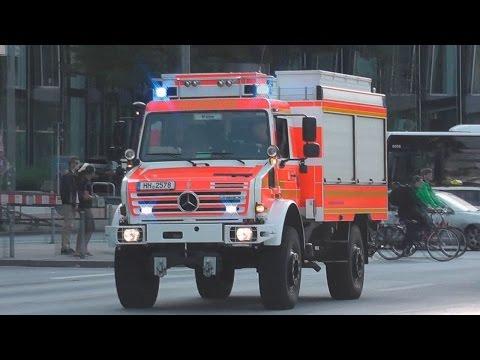[FEUERWEHR HAMBURG] 75x Berufs/- & Freiwillige Feuerwehr auf Einsatzfahrt